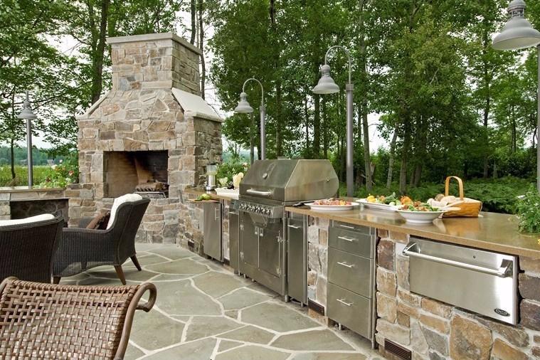 Hasil gambar untuk Kelebihan Desain Dapur Terbuka: Lebih Merasakan Suasana Keluarga yang Hangat
