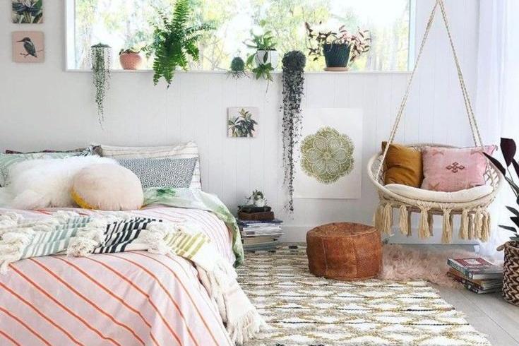 Interior Kamar Tidur Minimalis Ukuran 2x2 mau punya kamar tumblr yang manis miliki 9 item ini